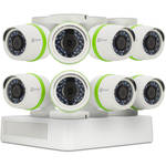 ezviz Everyday 720p 8-Channel 720p DVR with 1TB HDD and 8 720p Outdoor Bullet Cameras