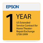 Epson 1-Year US Extended Service Contract for Home Theater Repair/Exchange ($700-900)