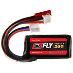 Venom Group Fly 7.4V 260mAh 30C 2S LiPo Battery with JST and E-Flite PH Plug (2-Pack)