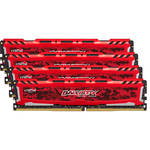 Ballistix Ballistix 32GB Sport LT Series DDR4 2666 MHz UDIMM Memory Kit (4 x 8GB, Red)
