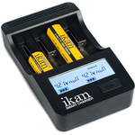 ikan SC4 4-Battery Universal Smart LCD Charger for AA, AAA, SC & C NiMH/NiCDs or Li-Ion Cells