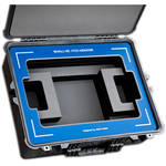 "Jason Cases Protective Case for SmallHD 2403 24"" HDR Monitor (Blue Overlay)"