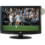 "QFX 18.5"" LED TV with ATSC / NTSC Tuner and DVD Player (Black)"