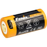 Fenix Flashlight 16340 Lithium-Ion Battery with Micro-USB Charging Port (3.6V, 700mAh)
