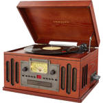 Crosley Radio 3-Speed Musician Entertainment Center with Bluetooth