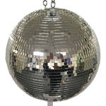 "Eliminator Lighting 16"" Mirror Ball with Motor Ring"