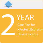Milestone Care Plus for XProtect Express+ Device License (2-Year)