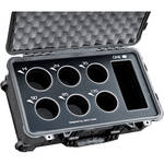 Jason Cases Protective Case for Set of 6 Rokinon Cine DS Lenses