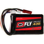 Venom Group Fly 30C 2S 430 mAh LiPo Battery with JST & E-Flite JST-PH Connectors (7.4V, 50C/21.5A Maximum Burst Rate)