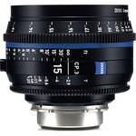 Zeiss CP.3 15mm T2.9 Compact Prime Lens (Nikon F Mount, Feet)