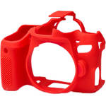easyCover Silicone Protection Cover for Canon 77D (Red)