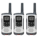 Motorola Motorola T260TP Two-Way Radio (White, 3-Pack)