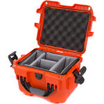 Nanuk 908 Case with Padded Dividers (Orange)