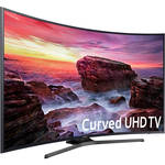 "Samsung MU6490-Series 55""-Class HDR UHD Smart Curved LED TV"