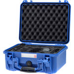 HPRC HPRC2300 Case with Custom Foam for DJI Spark Fly More Combo Kit (Electric Blue)