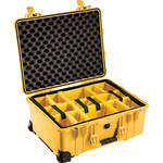 Pelican 1564 for the Waterproof 1564 Case with Yellow and Black Divider Set (Yellow)