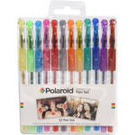 Polaroid Gel Pen Set (Glitter, 12-Pack)
