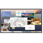 "NEC V801 80"" Full HD Commercial LCD Display with ThinkHub Standard Software"