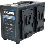 Fxlion Quad-Channel V-Mount Fast Battery Charger
