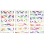 Polaroid Scrapbook Stickers (Alphabet & Numbers)