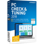 MAGIX Entertainment PC Check and Tuning 2018 (Academic, Volume 5-99, Download)