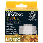 "Lineco Self-Adhesive Mounting/Hinging Tissue (1"" x 12')"