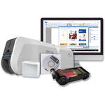 IDP SMART-51L Dual-Sided ID Card Printer and Laminator Kit