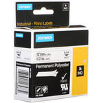 "Dymo White Permanent Poly Labels (1/2"")"