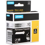 "Dymo Metalized Permanent Poly Labels (3/4"")"