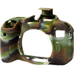 easyCover Silicone Protection Cover for Canon T7i (Camouflage)