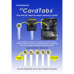 ShutterBands SD CardTabs (5-Pack)