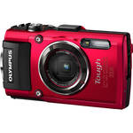 Olympus Stylus TOUGH TG-4 Digital Camera (Red)