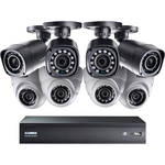 Lorex by FLIR 16-Channel 720p MPX DVR with 1TB HDD, 4 720p Bullet & 4 720p Dome Cameras with Night Vision