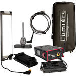 DMG LUMIERE MINI Switch WDMX AC/DC Kit with Lolly Pop Mount, V-Mount Battery Plate and Bag