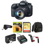 Canon EOS 7D Mark II DSLR Camera with 18-135mm Lens and Video Kit