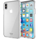 iLuv Vyneer Case for iPhone X (Clear)