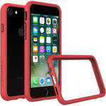 RhinoShield CrashGuard Bumper Case For iPhone 8 (Red)