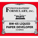 Photographers' Formulary BW-65 Developer for Black & White Paper (Liquid)