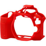 easyCover Silicone Protection Cover for Canon SL2/200D (Red)