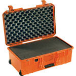 Pelican 1535 Air Wheeled Carry-On Case (Orange, with Pick-N-Pluck Foam 2017)
