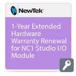 NewTek 1-Year Extended Hardware Warranty Renewal for NC1 Studio I/O Module