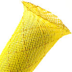 "Techflex Flexo Non-Skid Cable Sleeving (2"" Diameter, 25' Length, Neon Yellow)"
