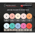 Rotolight Add-On Color FX Filter Pack for Anova V1, V2, and Pro Series