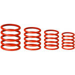 Gravity Stands G-Ring Universal Ring Pack for Microphone Stand (Set of 4, Lust Red)