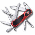 Victorinox Evolution Grip 18 Folding Knife (Red/Black) (Clamshell Packaging)