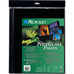 "Itoya Art Profolio PolyGlass Pages (16.5 X 23.4"", 10-Pack)"