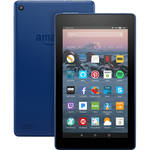 Kindle 8GB Fire 7 Wi-Fi Tablet (Special Offers and Advertisements, Marine Blue)