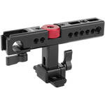 CAMVATE Nato Top Handle Kit with 15mm Rod Clamp & Shoe Mounts for Camera Cage (Black)