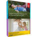 Adobe Photoshop Elements & Premiere Elements 2018 (Mac & Windows, Academic, Disc)