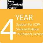 Sony 4-Year Support for SOW Standard Edition 16-Channel License